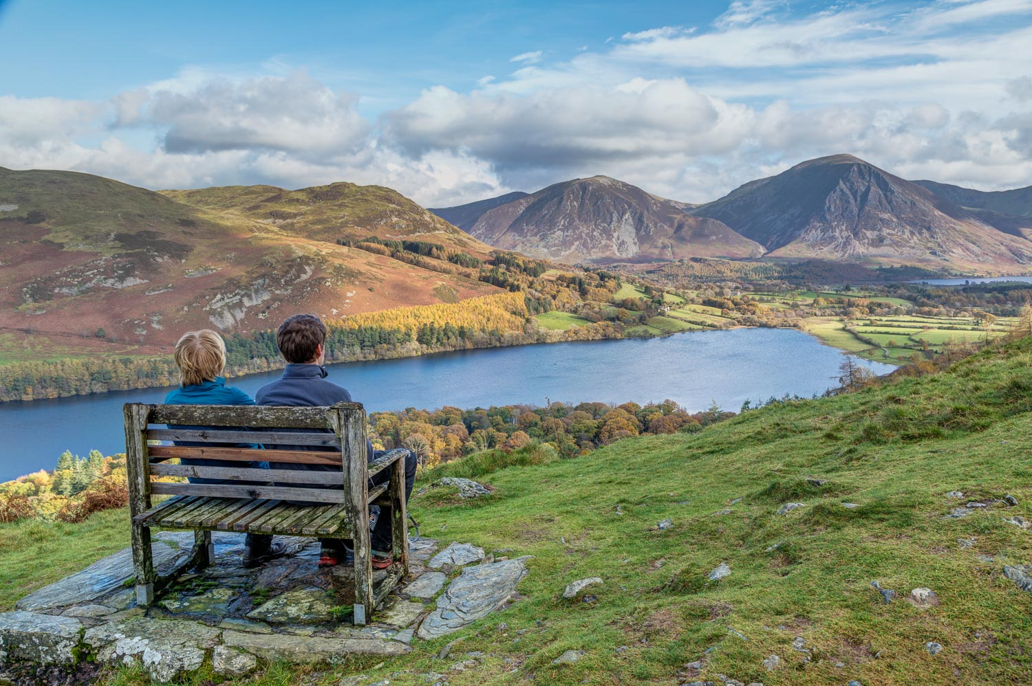Loweswater bench