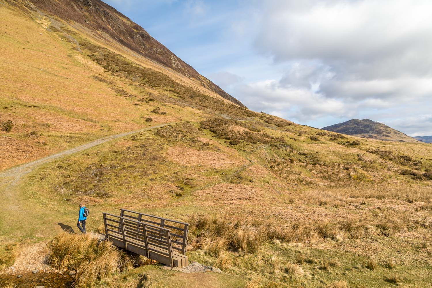 Loweswater walk, High Nook Beck, Loweswater coffin road