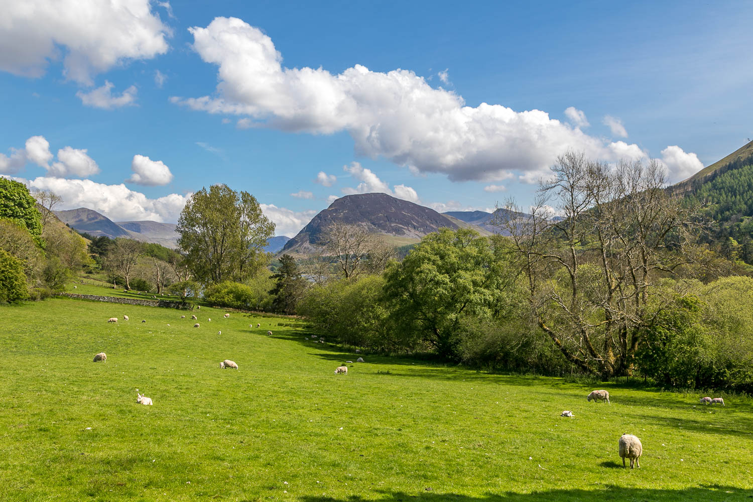 Loweswater, Waterend