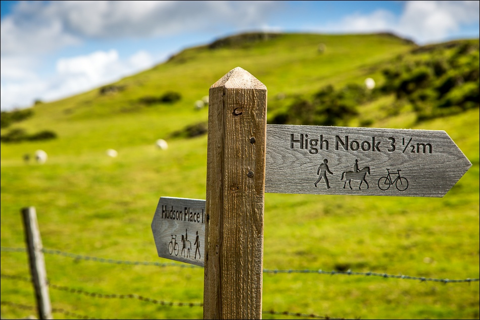 High Nook sign