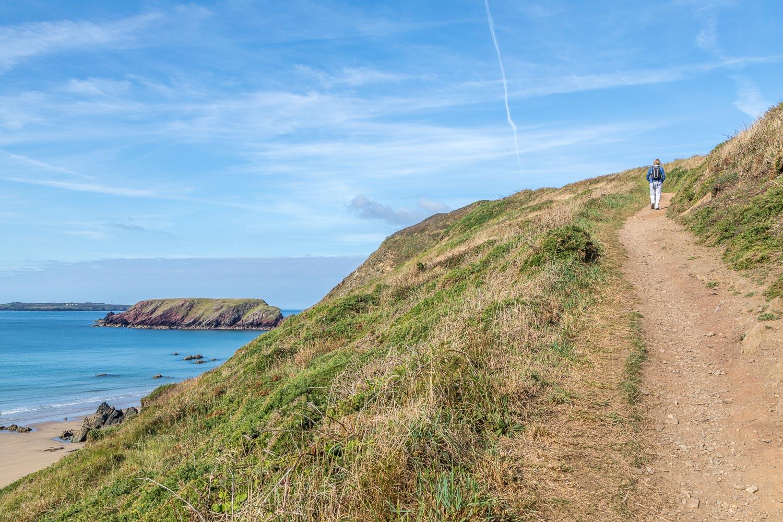 Marloes Peninsula walk, Wales Coast Path, Gateholm Island