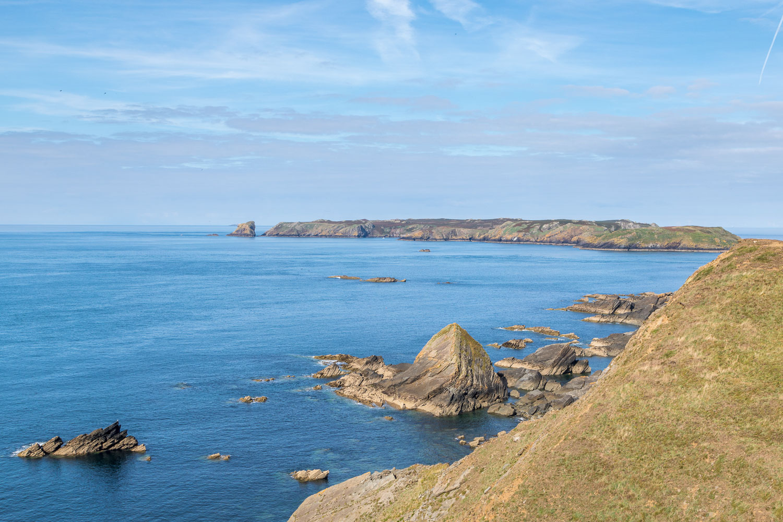 Marloes Peninsula walk, Wales Coast Path, Skomer Island