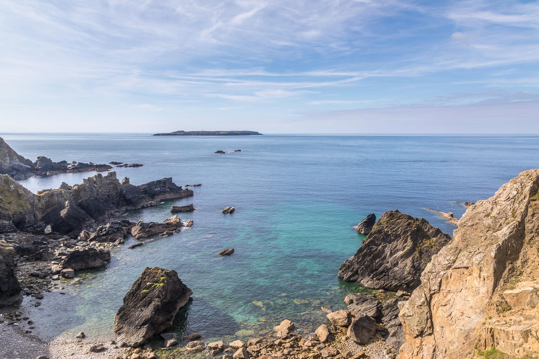 Marloes Peninsula walk, Wales Coast Path, Skokholm Island