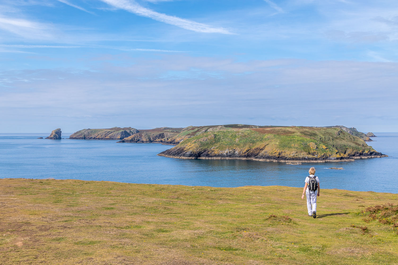 Marloes Peninsula walk, Wales Coast Path, Skomer