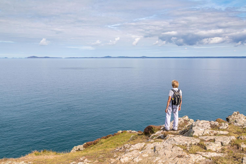 Marloes Peninsula walk, Wales Coast Path, Wooltack Point, St Brides Bay