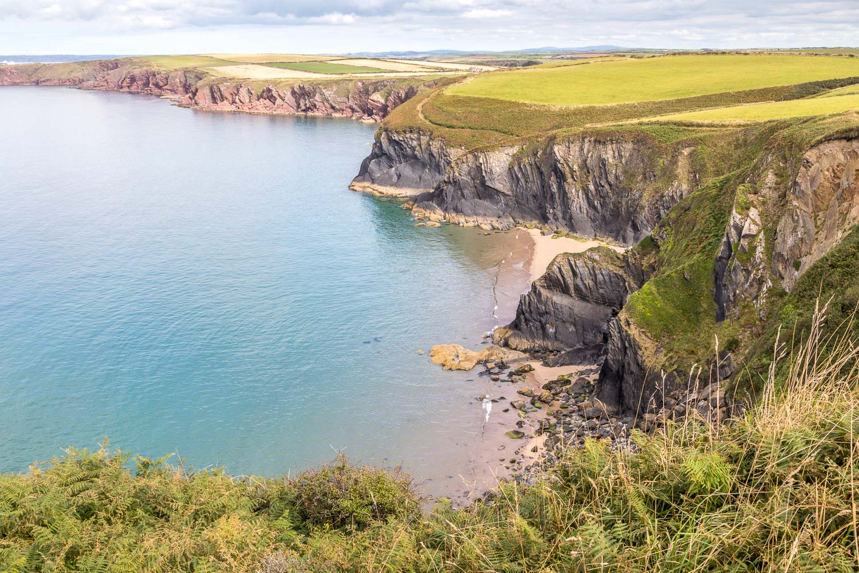 Marloes Peninsula walk, Wales Coast Path, Musselwick Sands