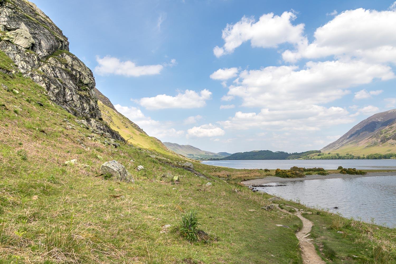 Low Ling Crag, Crummock Water