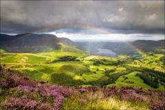 Mellbreak rainbow, Loweswater