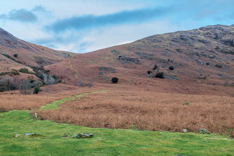 Greendale, Middle Fell walk