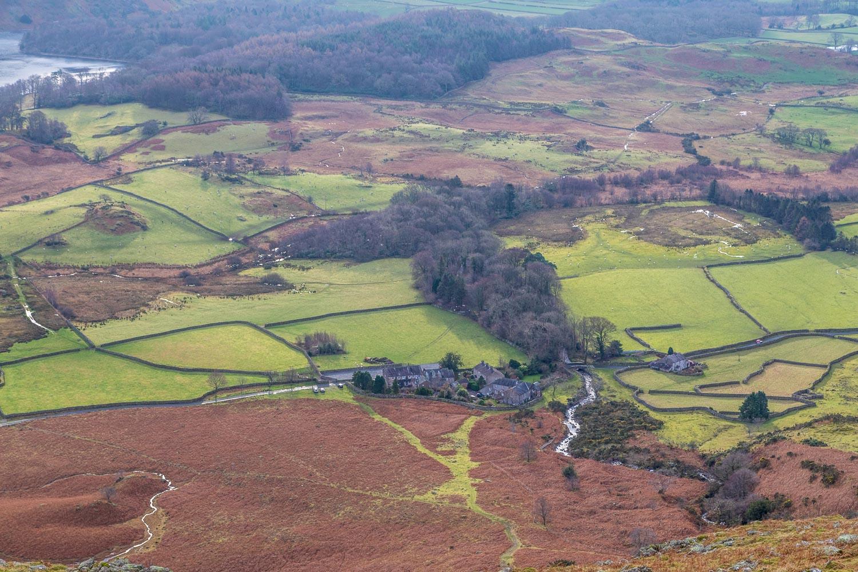 Middle Fell walk, Greendale