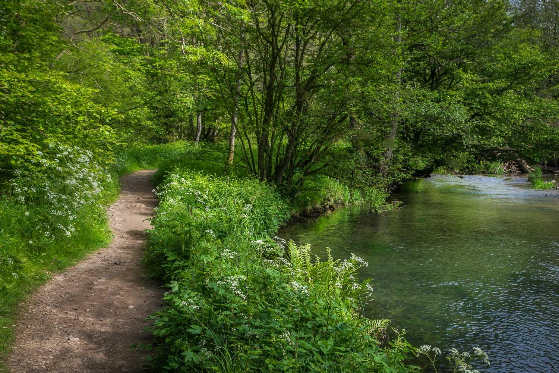 River Dove, Milldale walk