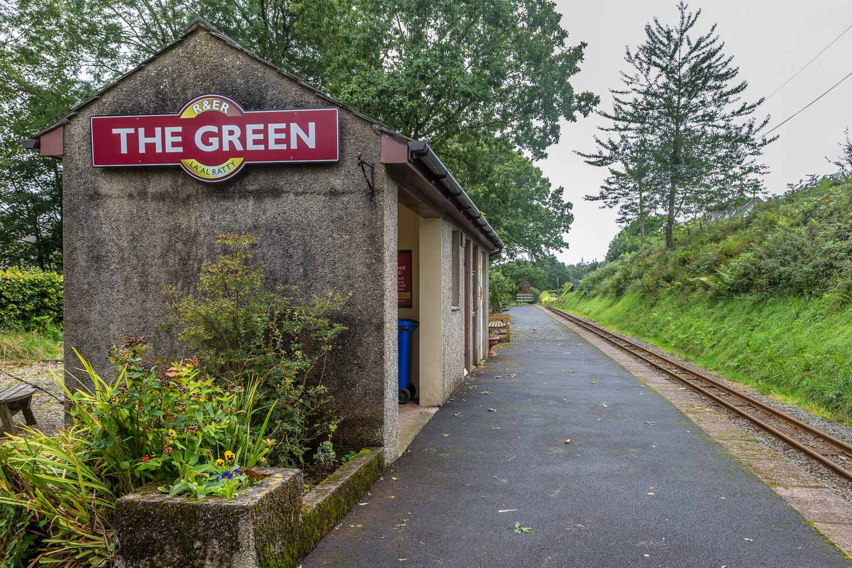 The Green, Eskdale Green, Ravenglass & Eskdale Railway
