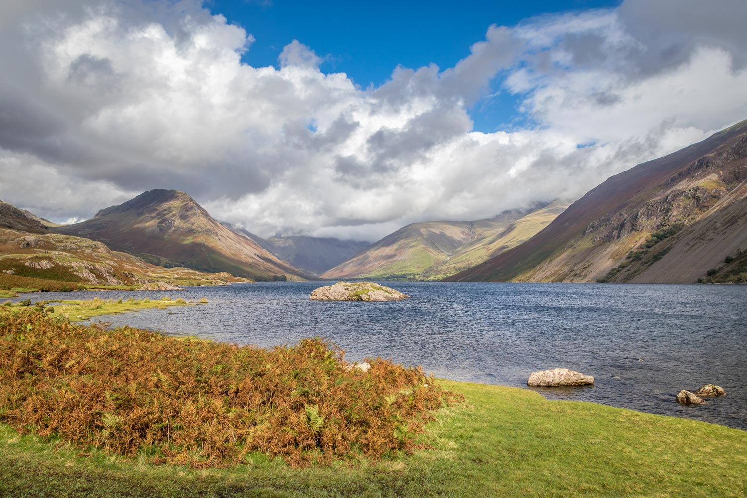 Wasdale Head view, Wastwater view