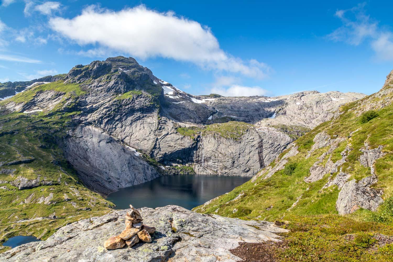 Munkebu walk, Tridals lake, Lofoten