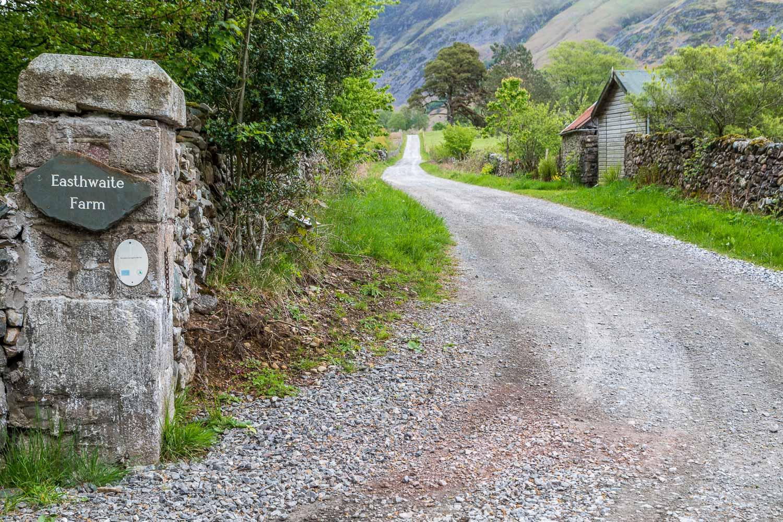 track to Easthwaite Farm