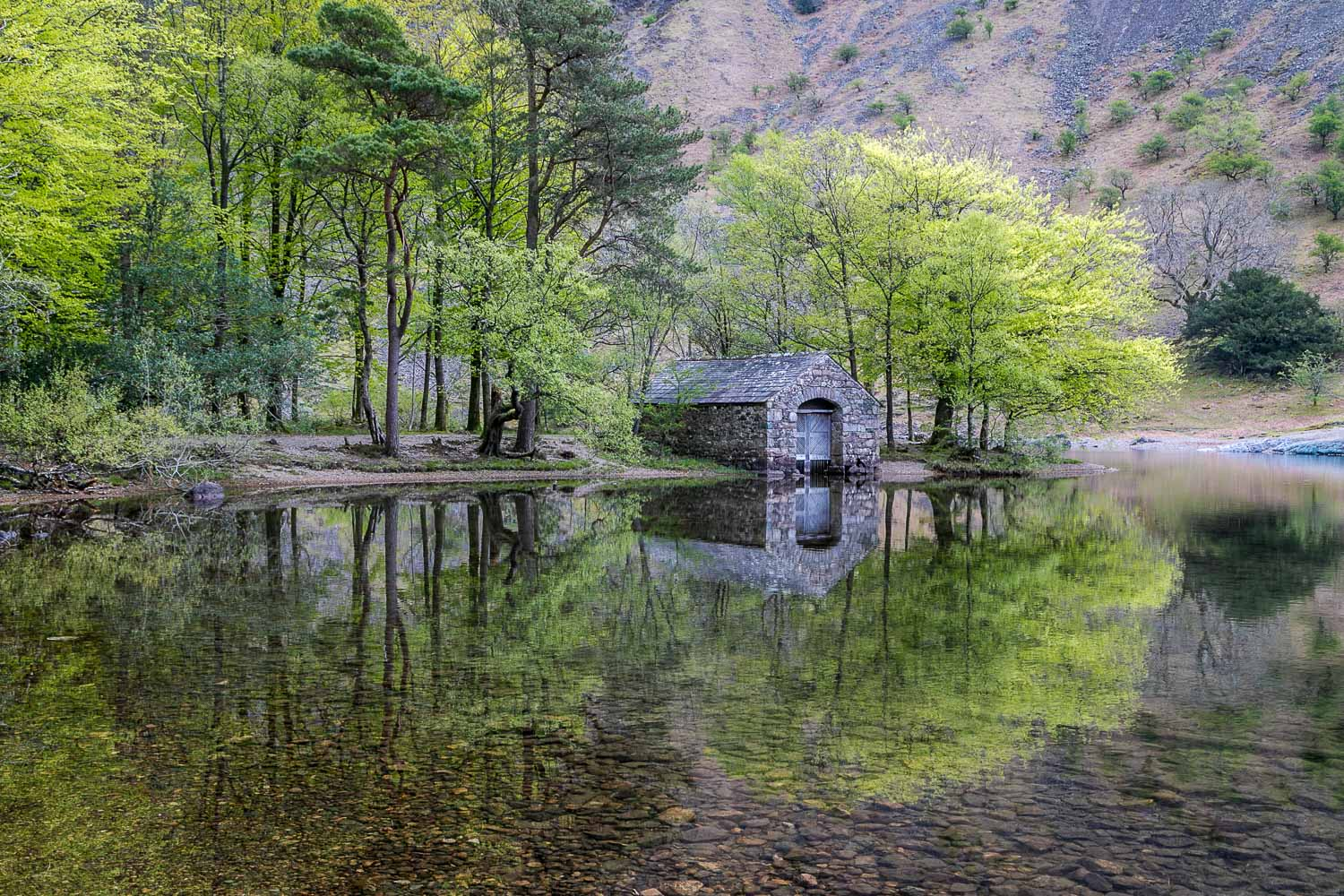 Wast Water, boathouse