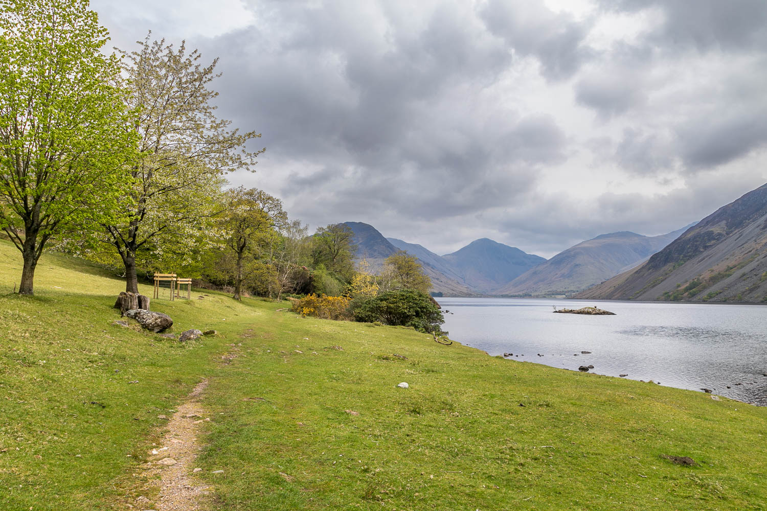 Wast Water view, Wasdale Head view