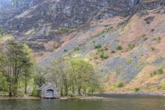 Boathouse at the foot of Wast Water
