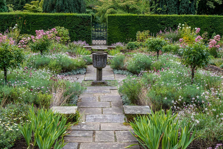 Newby Hall garden, Sylvia's Garden