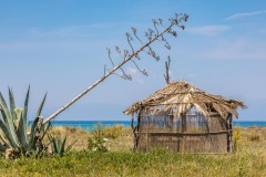 Old Perithia walk, Corfu walk, Almiros beach