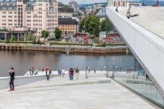 Oslo walk, Oslo opera house