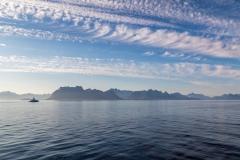 Ferry to Lofoten, Lofoten wall