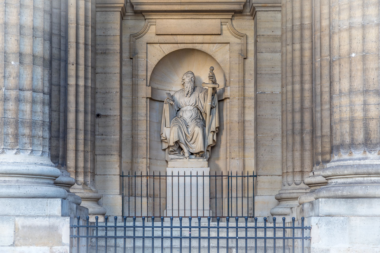 The Church of Saint-Sulpice, Paris