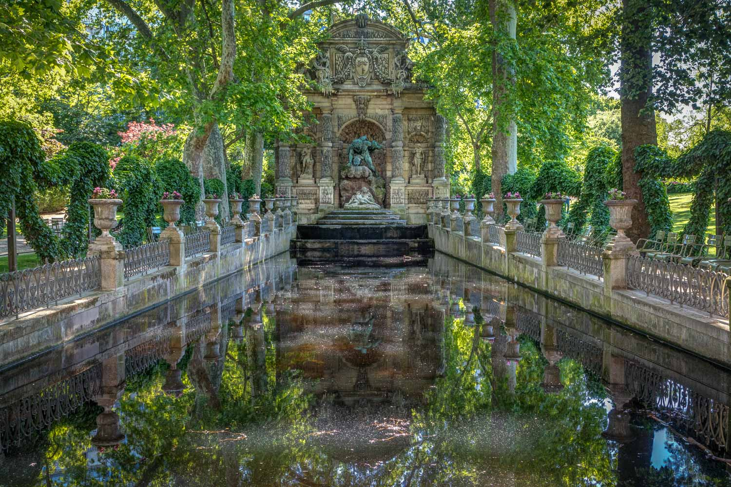 Medici Fountain, Luxembourg Gardens Paris