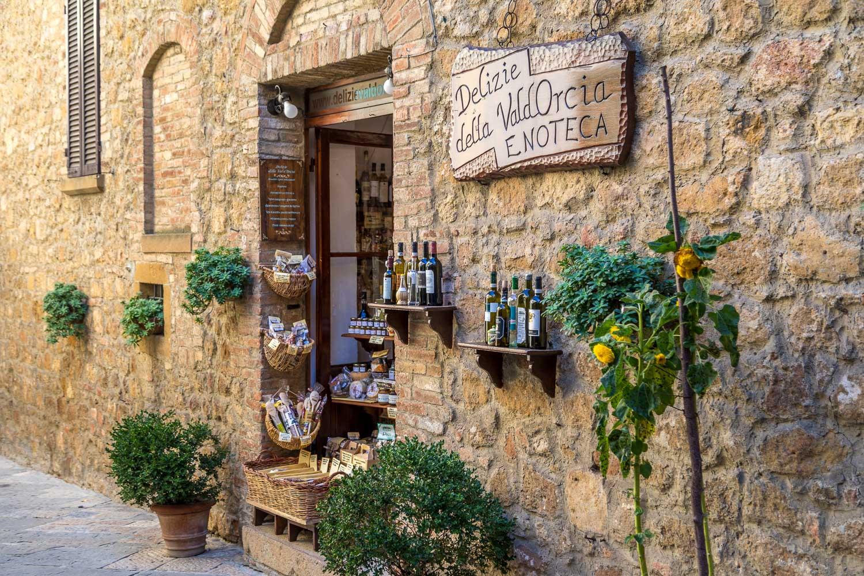 Pienza wine