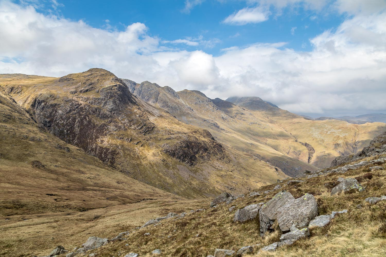 Great Knott, Crinkle Crags, Bowfell