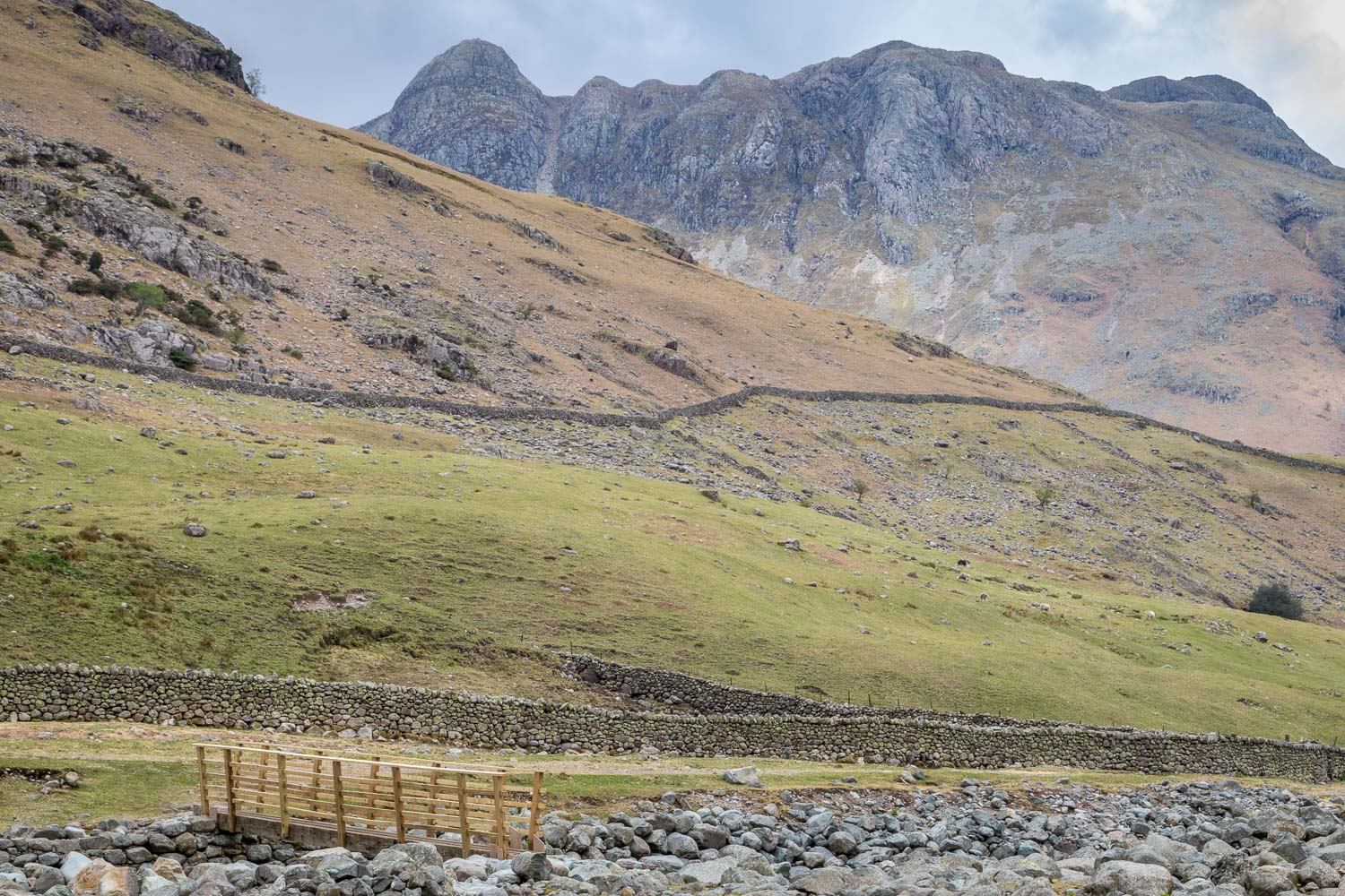 Oxendale Beck, Langdale Pikes