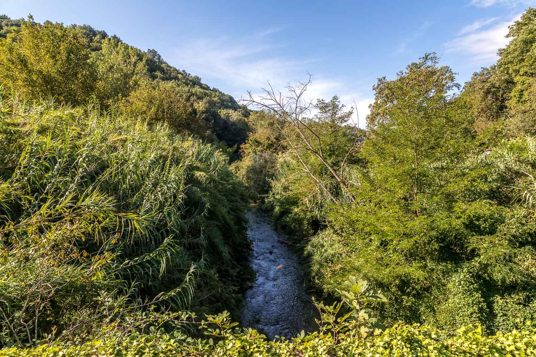 Pitigliano, River Lente