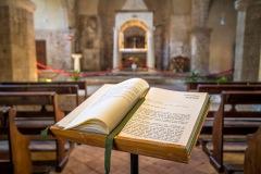 Sovana, the Romanesque church of Santa Maria Maggiore