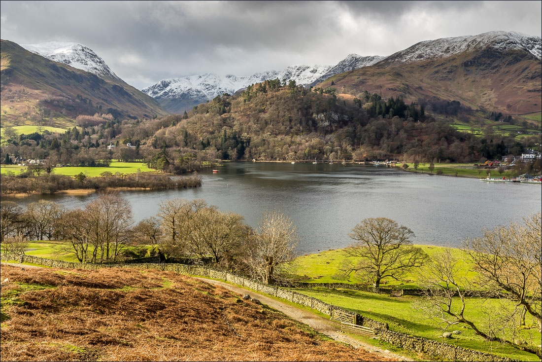 Place Fell walk, Ullswater view