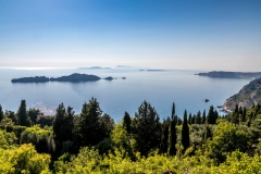 Porto Timoni walk, Corfu walk, 3 Brothers restaurant