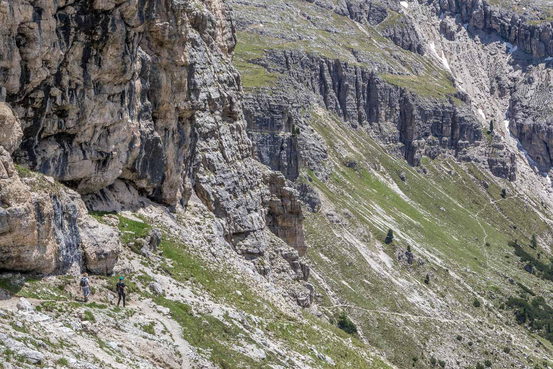 Puez walk, Dolomites walk