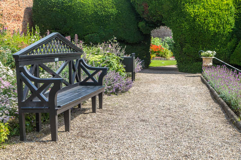 Raby Castle garden