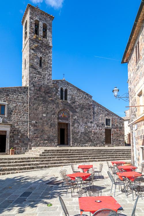San Pietro Apostolo Church Radicofani