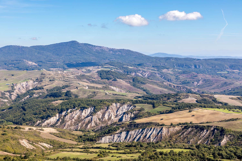 Radicofani Rocca fortress, Monte Amiata
