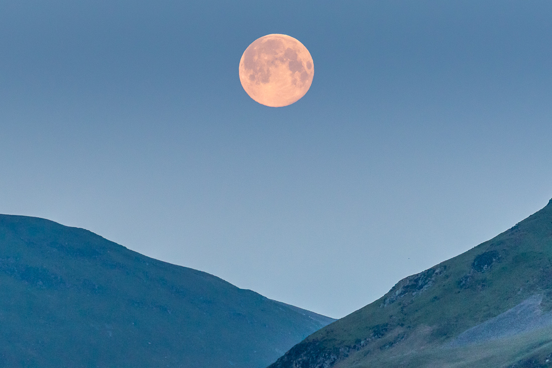 Full moon Loweswater