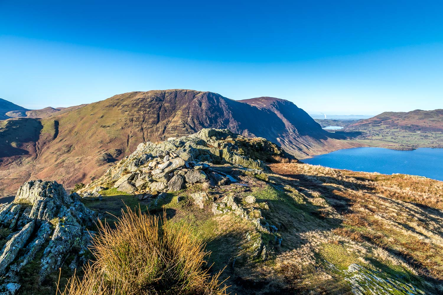 North top of Rannerdale Knotts