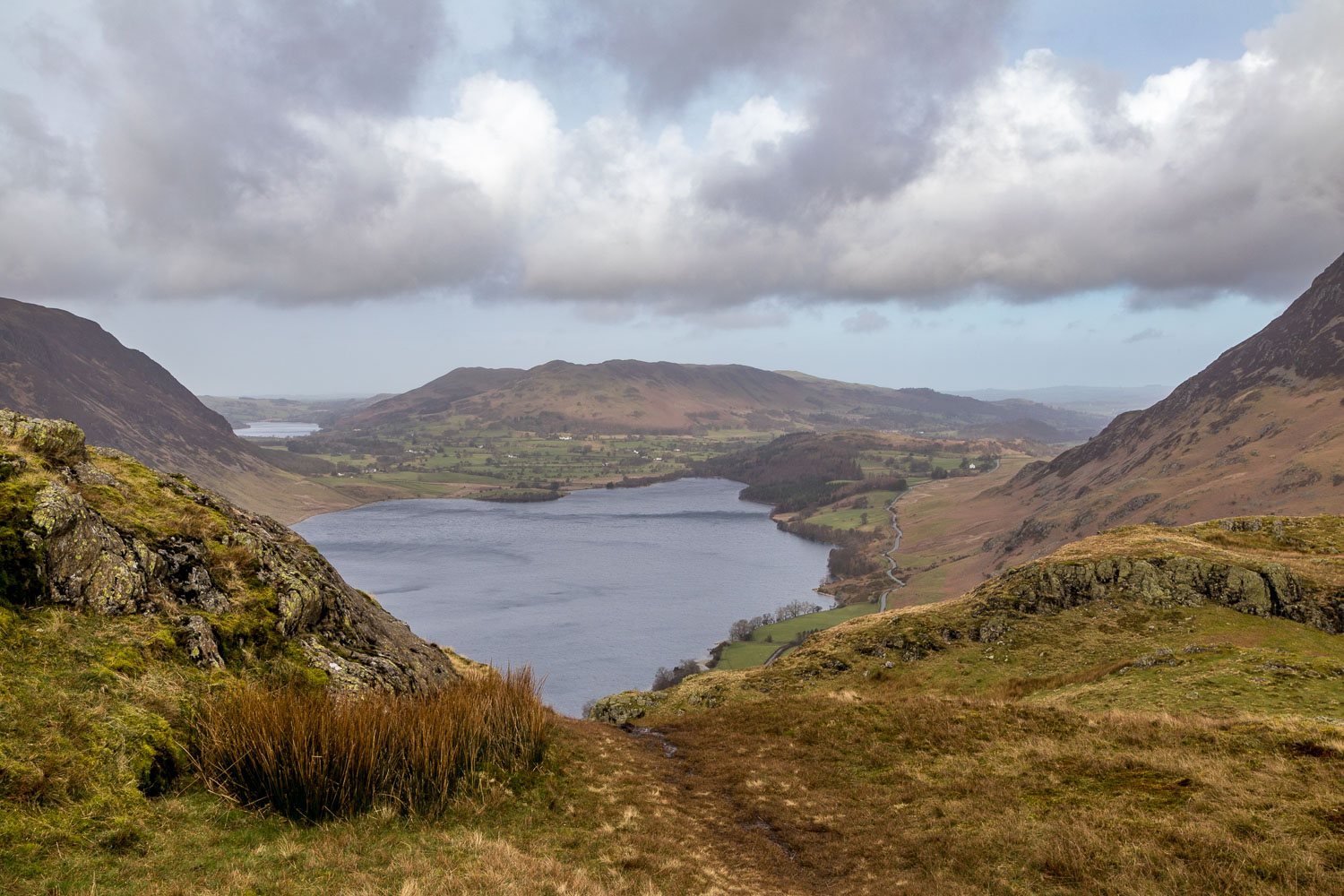 Rannerdale Knotts summit