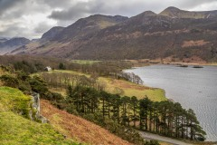 Rannerdale Knotts walk, Wood House, High Stile Range