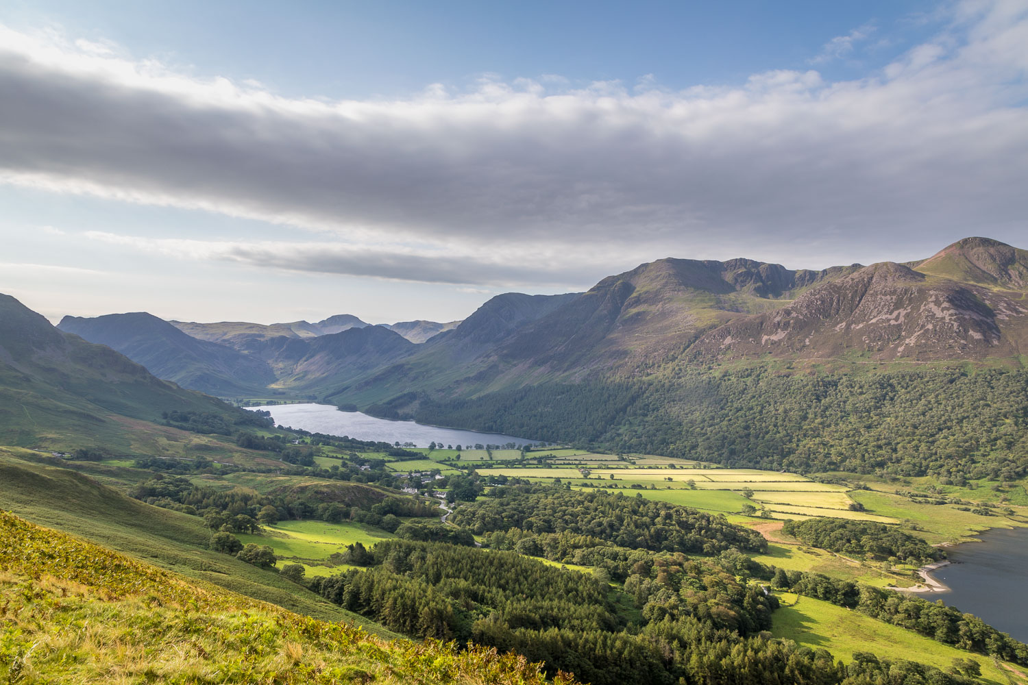 Rannerdale Knotts walk, Buttermere