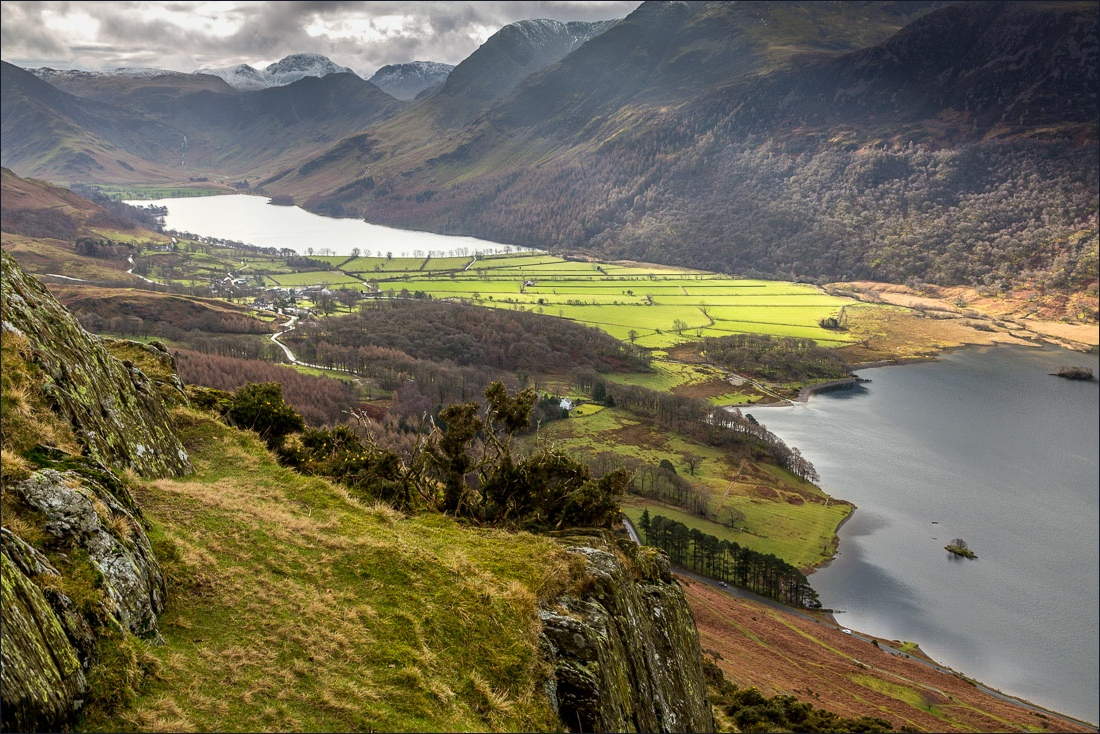 Rannerdale Knotts walk, Buttermere and Crummock Water