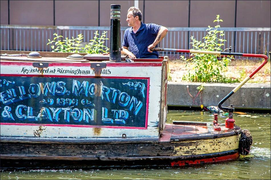 Regents Canal barge