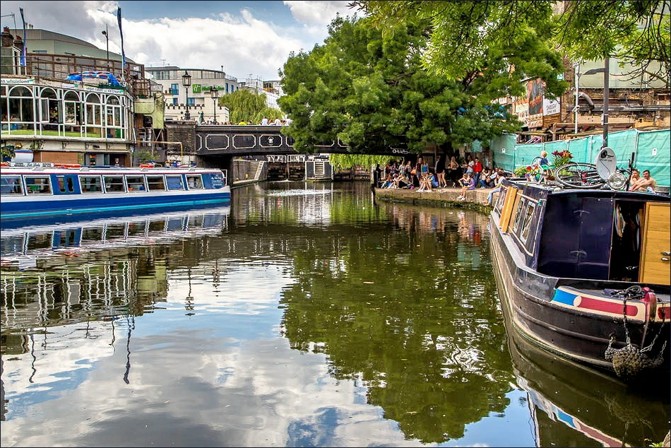 Regents Canal walk, Camden
