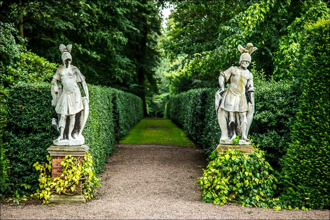 Renishaw Hall Gardens