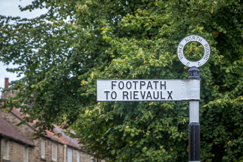 Rievaulx Abbey walk, Helmsley