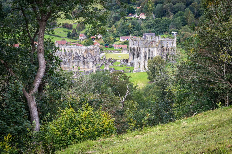 Rievaulx Abbey from Rievaulx Terrace